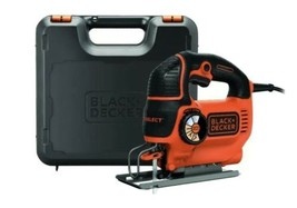 Black & Decker 520W Compact Jigsaw with-blade and Kit box KS701EK-GB - $62.53