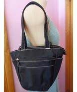 ADS Black Satchel Shoulder Bag Nylon Attitude Design Style A.D. Sutton &... - $21.24