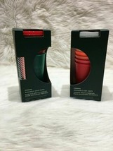 2 Starbucks 2019 Holidays Reusable Cold and Hot Cups 5 each limited edit... - $63.57