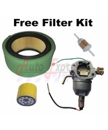Fits Kohler Engines CV18S CV22S Carb Air Oil Fuel Filters Tune Up Kit - $63.95