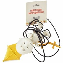 Hallmark Peanuts® Charlie Brown With Kite Photo / Letter Holder - $30.68