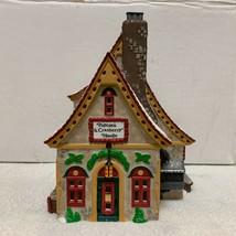 Dept 56 Popcorn & Cranberry House North Pole Village Lighted Christmas B... - $38.80