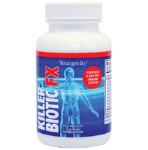 Youngevity Sirius Killer Biotic Fx 60 capsules single bottle Free Shipping - $41.59
