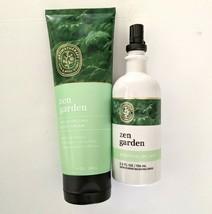 BBW Bath and Body Works Zen Garden Essential Oil Mist and Body Cream Lot... - $29.98