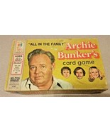Vintage 1972 All In The Family Archie Bunker's TV Show Card Game MB comp... - $14.50