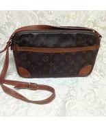 Louis Vuitton Mono Leather Trocadero Handbag- Crossbody 11in x 7in x 2.5... - $375.20