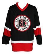 Custom Name # Bad Religion Retro Hockey Jersey New Sewn Black Any Size - $54.99+