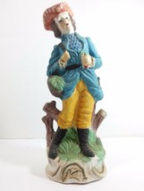 Vintage Ceramic Figurine, 17th Century Gentleman (label Special for Soph... - $19.75