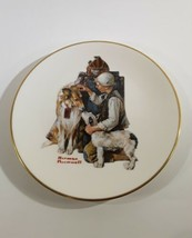 Norman Rockwell Making Friends Gorham China Collector Plate 1981 - $5.00