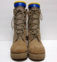 NWOB WELLCO (Sz 5 R) 239-86 HOT WEATHER Military Boots Vibram Soles SUEDE - $48.59