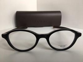New Oliver Peoples Rowan BK/SYC  Black Oval 46mm  Eyeglasses Frame Japan - $116.99