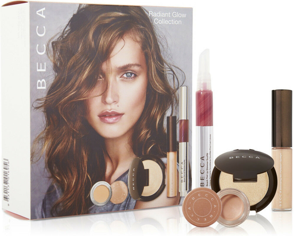 $70 NIB 4pc Becca ~Radiant Glow Collection~ Moonstone Shimmering Skin Perfector - $50.48