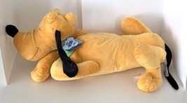 Disney Parks Dream Friends Sleeping Pluto the Dog 18 inch Plush Doll NEW image 1