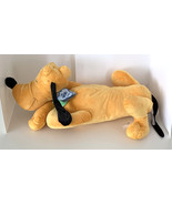 Disney Parks Dream Friends Sleeping Pluto the Dog 18 inch Plush Doll NEW - $55.00