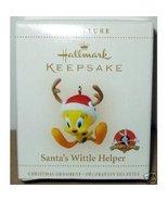 Looney Tunes Tweety - Santa's Wittle Helper Hallmark Keepsake Ornament 2006 - $24.75