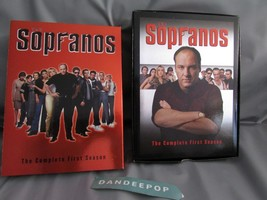 The Sopranos - The Complete First Season (DVD, 2000, 4-Disc Set, DVD Collection) - $8.90