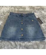 Girl's Size 12 Tommy Hilfiger Denim Blue Jean Mini Skirt New  - $20.00