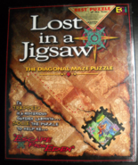 Buffalo Games Jigsaw Puzzle 1997 Lost In A Jigsaw Escape From Eden Seale... - $8.99