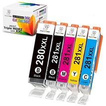 Ms Deer Compatible PGI-280XXL CLI-281XXL PGI 280 XXL CLI 281 XXL 280 281... - $46.95