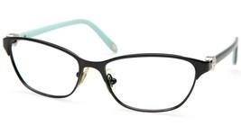 Tiffany & Co. Tf 1072 6007 Black Blue Eyeglasses Frame 51-15-135 B34 Italy - $54.44