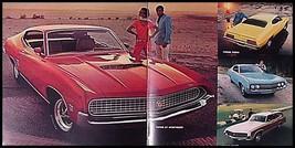 1970 Ford Brochure Torino Mustang Mach I, T-Bird Xlnt - $8.42