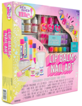 It's So Me Create Your Own Flavored Lip Balm + Cute Characters Nail Art Kit DIY image 3