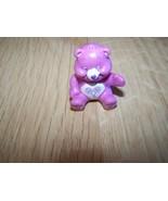 """Mini Share Bear Care Bear PVC Toy Cake Topper Lollipops Purple 1.5"""" - $8.00"""