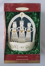 Hallmark Keepsake Ornament A Wish For Peace Laser Gallery Christmas Tree... - $13.48