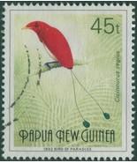 Papua New Guinea 1992 SG643 1992 45t Bird of Paradise FU - $1.24