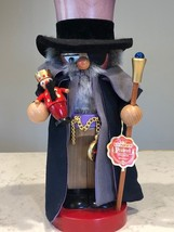 Steinbach Signed and Numbered Drosselmeyer Chubby Nutcracker, 2005 - $255.00