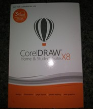 Corel DRAW Home & Student Suite X8 - $35.00