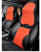 memory cotton head leather pillow car neck shoulder lumbar car seat cover pad home car thumb200