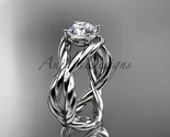wedding ring  rope ring  diamond engagement ring  forever brilliant moissanite  1 thumb155 crop