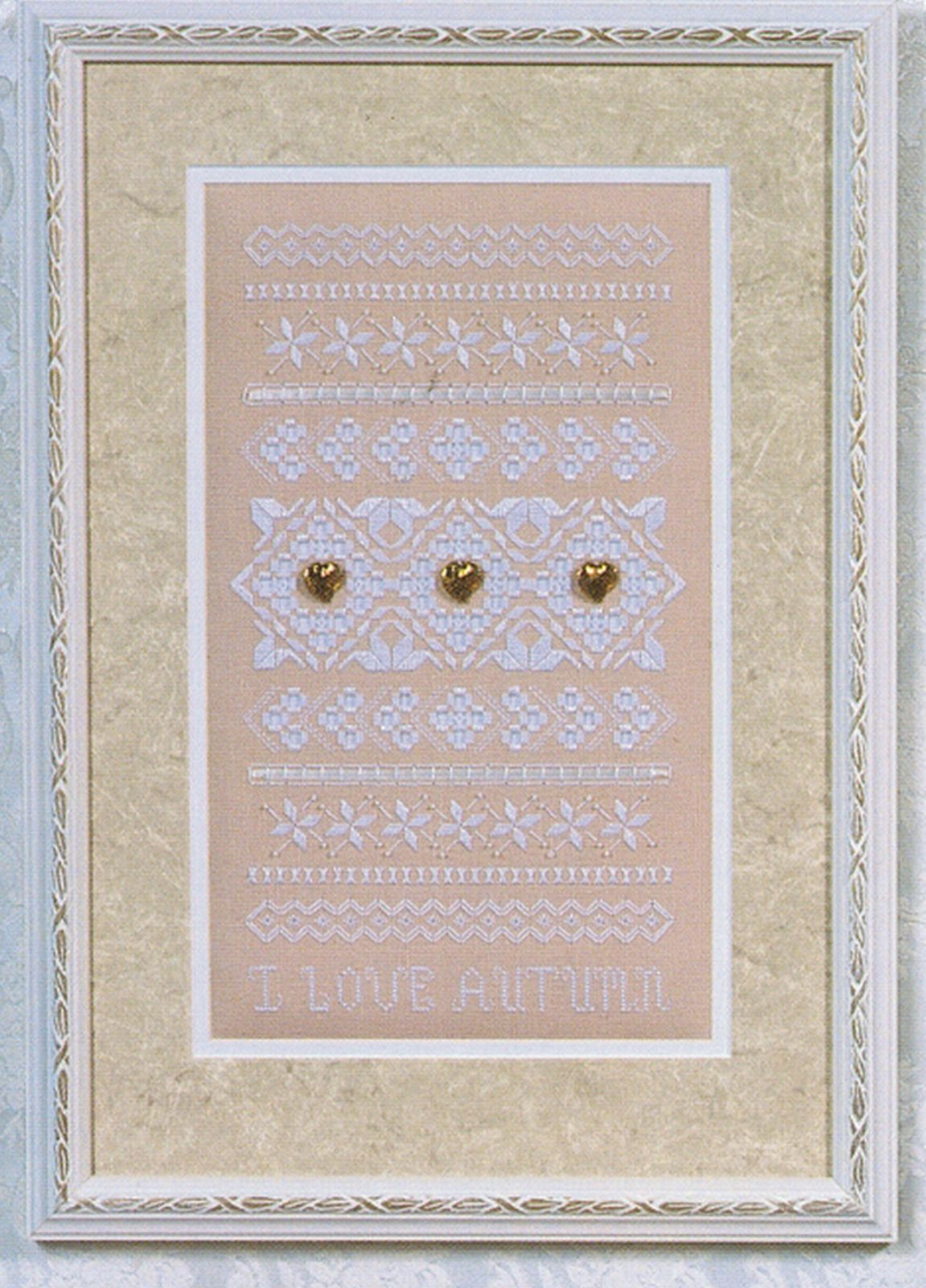 I Love Autumn Hardanger Embroidery Seasonal Sampler Rosalyn Watnemo Book image 4