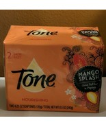 Tone Bath Soap Mango Splash W/Cocoa Butter & Botanicals 4.5 oz. 2 Bars - $7.55