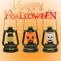 Halloween Pumpkin Ghost Night Light Prop Witch Horrible Voice Decor Nove... - £2.76 GBP+