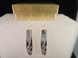 International Anniversary Rose 1962 Earrings Silverplate - $37.41