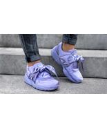New PUMA RIHANNA Size 9 FENTY Purple Satin Bow Sneakers Shoes - $89.00