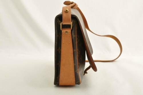 LOUIS VUITTON Monogram Cartouchiere GM Shoulder Bag M51252 LV Auth ar1643 image 4