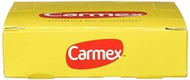 Carmex Classic Lip Balm Medicated 0.25 oz (Pack of 12) image 2