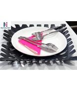 Al-Nurayn cutlery set, TeamFar Cutlery Set In Stainless Steel (Set Of 6) - $139.00