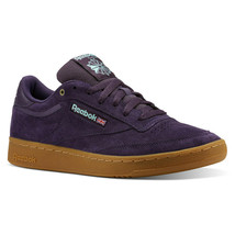Reebok Classics Men's Purple Club C 85 MU Casual Sneakers CN3866 - $124.97