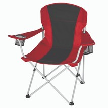 Camping Chair Heavy Duty 2 Cup Holders Umbrella Oversized Portable Foldi... - $25.61+