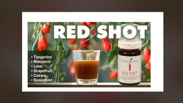 Young Living Red Shot 5mL Essential Oil New Sealed Rare discontinued - $25.87