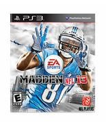Madden NFL 13  (Sony Playstation 3, 2012) - $12.86