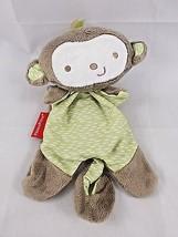 "Fisher Price Monkey Lovey ClipOn Rattle Plush Security Blanket 8"" Stuffed Animal - $11.95"