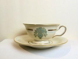 Vintage Set of 2 Castleton China Dorset Cups and Saucers USA - $14.00