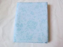 Light & Medium Blue Medium Scale Rose & Leaves Quilting Fabric JoAnn Fab... - $14.30