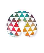 Geometric Triangle Rainbow Travel Neck Pillow - $29.31 CAD+