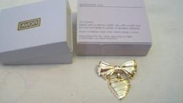 AVON GOLDTONE HEART SENTINMENT PIN, BNIB - $11.14